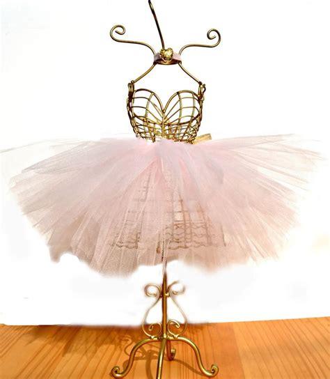ballerina tutu centerpiece wire mannequin dressform
