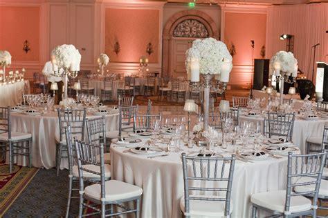 chiavari chairs wedding reception a chair affair inc silver chiavari chairs at ritz carlton