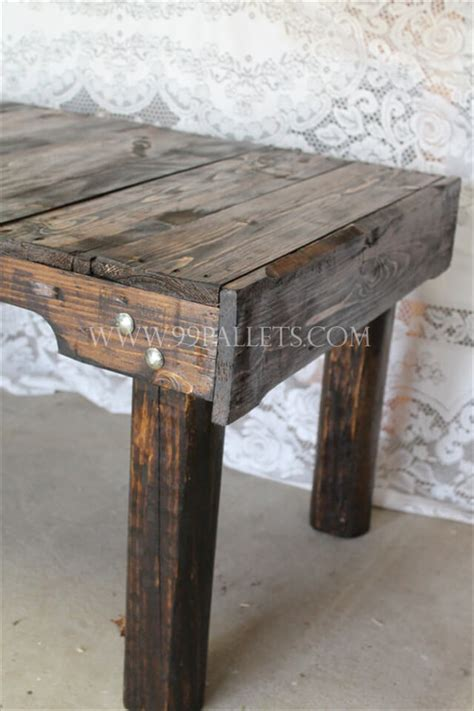 Wooden Pallet Coffee Tables Handmade Wood Pallet Coffee Table