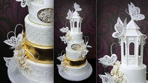 Tje Two Way Cake 3d 14g No 2 assembling and decorating the butterfly paradise wedding