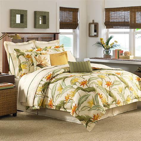 tommy bahama comforter sets tommy bahama birds of paradise comforter duvet set from
