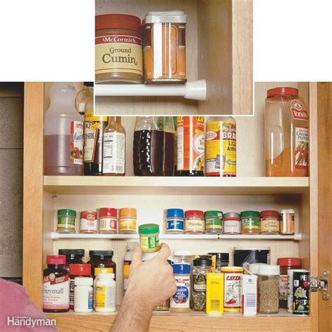 easy view cabinet organizers clever kitchen cabinet pantry storage ideas family