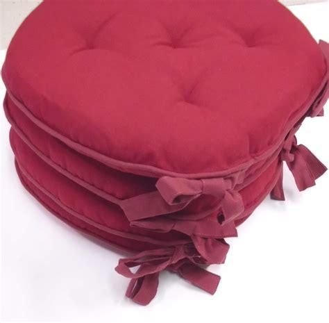 cuscini per sedie rotonde cuscini sedie cucina in cotone rotondi e quadrati bollengo