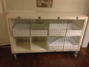 Wooden Rabbit Hutch For Sale Expedit Turned Guinea Pig Condo Ikea Hackers Ikea Hackers