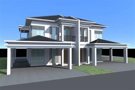 double storey detached house design homemas development miri double storey terrace and semi detached houses