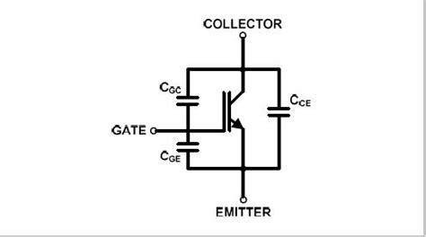 transistor igbt commutation symbol for capacitance clipart best