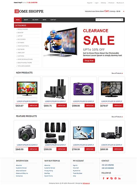membuat website gratis untuk jualan 7 template responsive keren gratis untuk website toko