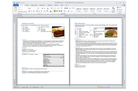 creating a cookbook template recipe software living cookbook 2015