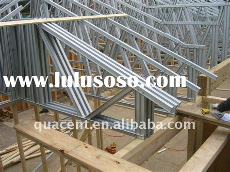 light gauge steel truss system building structure construction building truss roof