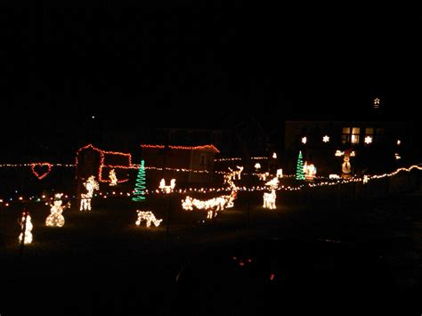 where are the best christmas lights in charlottesville