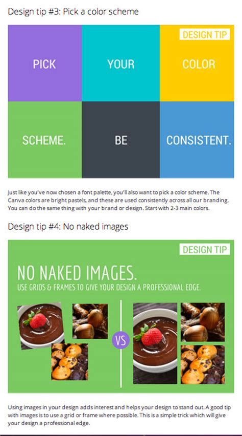 canva blog how to use snackable visual content on your blog
