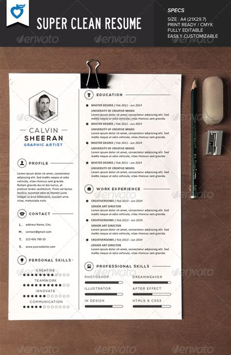 indd resume templates 155 premium cv resume templates in indd eps psd xdesigns