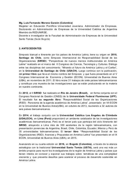 convocatoria docente posgrados 2016 2 universidad javeriana convocatoria iv simposio internacional de responsabilidad
