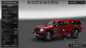 Ford Svt Raptor Ford F150 Svt Raptor V 2 0 For 1 24 Ets 2 Mods