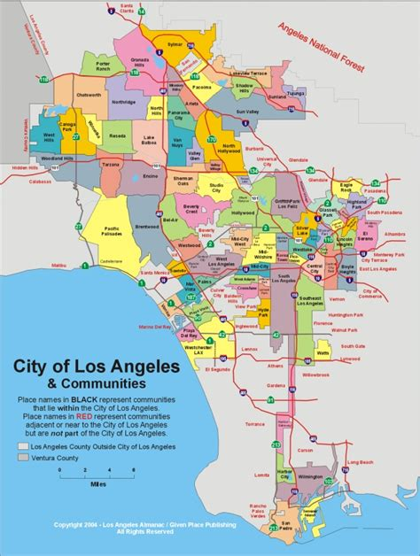 L Parts Los Angeles by Will The City Of Los Angeles Divide The City Into Boroughs