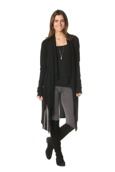 Rn Sweater Mismis Fit L majamas maglione lightweight maternity nursing sweater in black