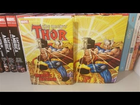 libro thor heroes return omnibus the mighty thor heros return omnibus youtube