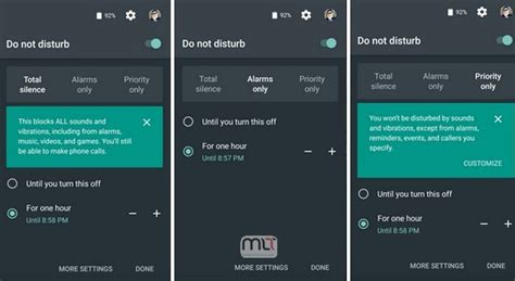 Android Do Not Disturb by Get Started With Android M Preview 3 On Nexus 5