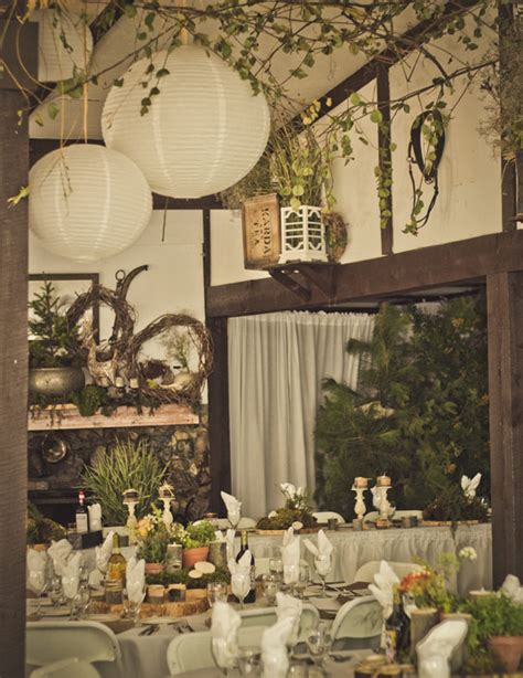 country themed wedding reception decorations a woodland country themed wedding in knutsford
