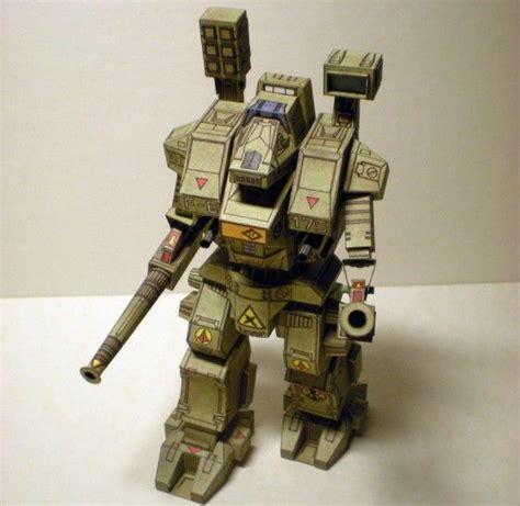 Paper Craft Robot - battletech whm 6r warhammer free robot paper model
