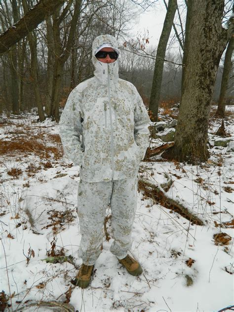 snowdrift camouflage over garment pencottcamo