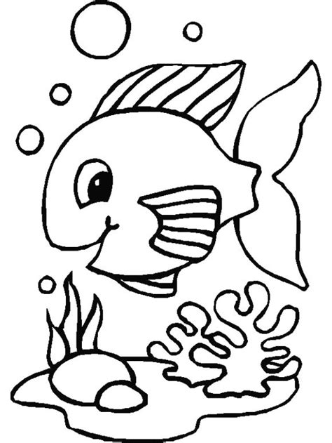 fish coloring pages for preschool preschool coloring pages fish peg dolls pinterest