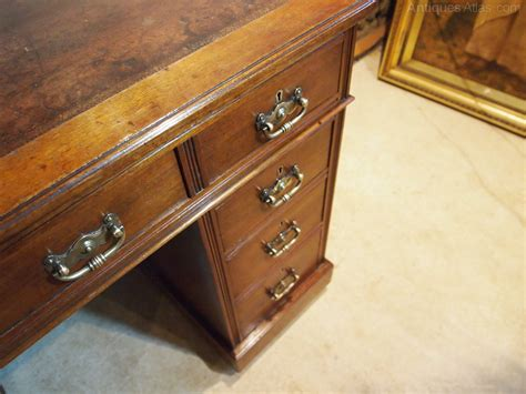 cloverleaf home interiors browse antiques desk victorian arts and crafts walnut 3 part small