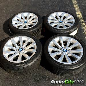 Tires And Rims Bmw 17 Quot 2011 Bmw 3 Series Silver Factory Oem Wheels Rims And