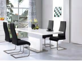 White Gloss Dining Table And Chairs Marceladick Com