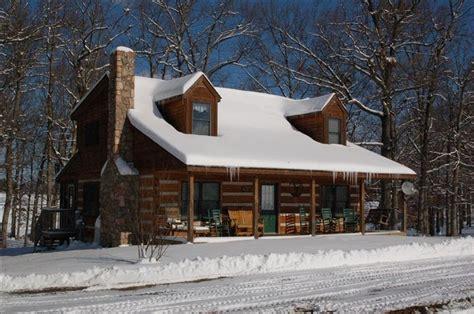 snow covered log cabin cabin fever