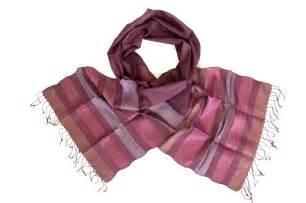 silk fair trade scarf vineyard counting flowers