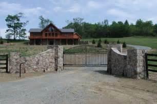 flagstone driveway entrance gates entrance entry ways