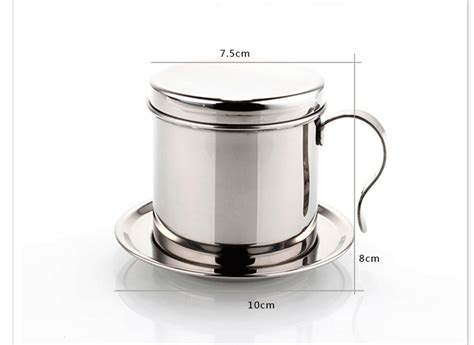 Dripper Two Drip Dripper Manual Brew Glass Stainless Stand drip coffee maker stainless steel