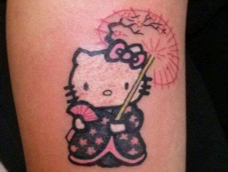 hello kitty tattoo design 17 best ideas about tattoos on cat