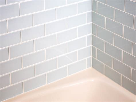 how to put tile on wall in bathroom how to install a shower tile wall hgtv