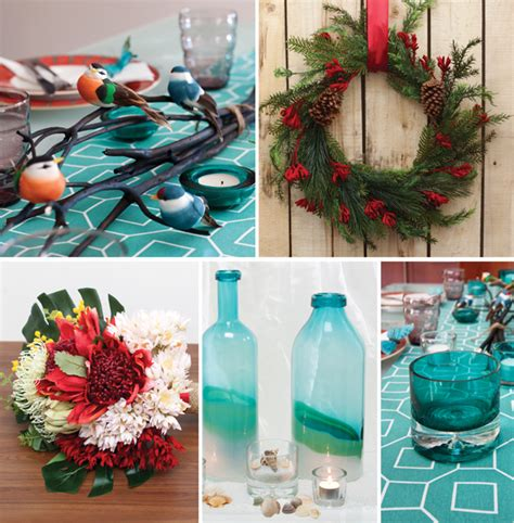 australian inspired xmas centrepiece ideas the koch blog