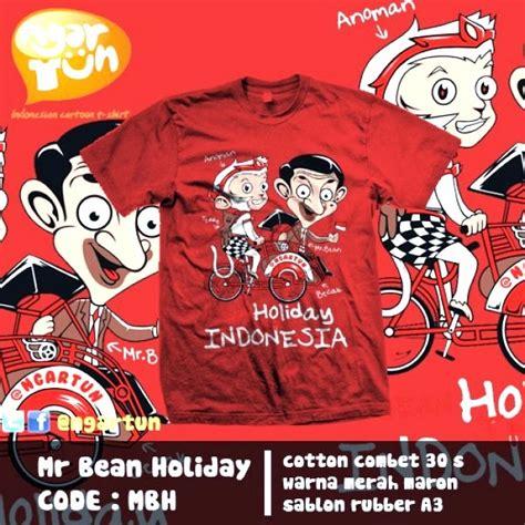 Berkualitas Kaos Mr Bean Mr Bean Mr Bean Motifkita kado lucu kaos ngartun jogja