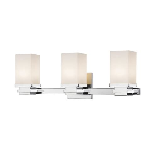 integrated led vanity light home decorators collection 100 watt equivalent polished