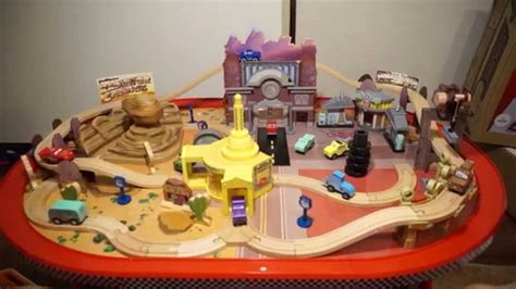 cars play table costco cars radiator springs race track set table disney