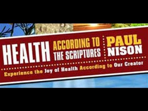 according to the scriptures the of in the testament and the new books health diet according to the scriptures