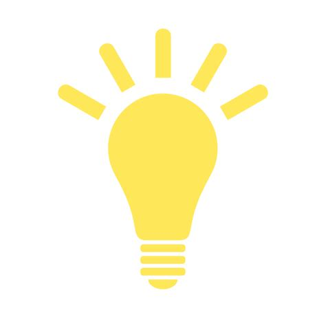 Light Bulb Wiki by File Light Bulb Yellow Icon Svg Wikimedia Commons