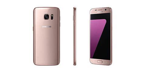 samsung riliskan galaxy s7 s7 edge dengan warna pink