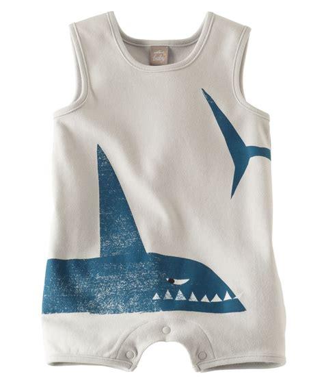 Romper Shark baby boy shark tank romper hallmark baby clothes baby