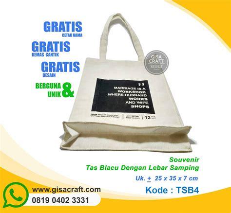 Pouch Kosmetik Blacu Kanvas Tempat Pensil Totebag Blacu Dompet 3 souvenir tas blacu dengan lebar sing tsb4 gisa craft