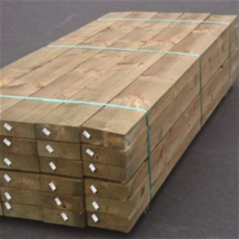 Treated Timber Sleepers by Tetrawal Treated Pine Timber Sleepers