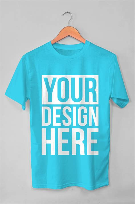 Request Design Your Tshirt free hanging t shirt mockup age themes