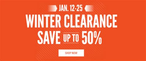 cabela s canada winter clearance sale save up to 50