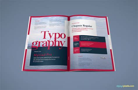brand book template the harmony free brand book template zippypixels
