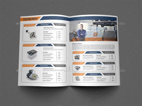 10 Excellent Online Auto Catalog Templates For Free Download Catalogue Brochure Templates
