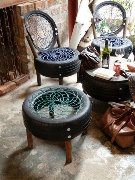 le recyclage pneu idees originales archzinefr